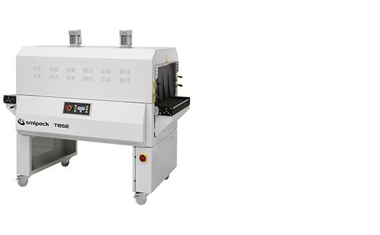 Empacadoras angulares semiautomáticas y automáticas con túnel de termorretracción