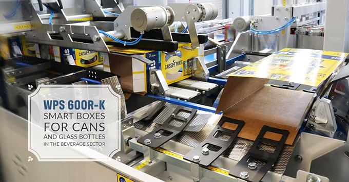 WPS 600R-K, Cajas smart para latas y botellas de vidrio en el sector de bebidas